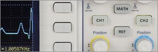 Oscilloscope numérique 100 MHz, 2 voies, 1Gech/s, compact, LAN, USB