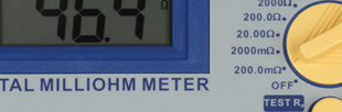 Digital Milli-Ohm Meter