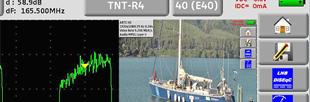 Mesureur de champ terrestre (DVB-T et DVB-T2) et satellite (DVB-S et DVB-S2), décodage MPEG2 et MPEG4
