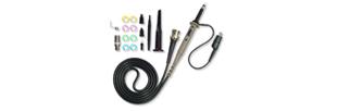 Sonde pour oscilloscope (x1,x10, 250 MHz, 300 V)
