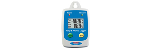 LOG1620 Temperature and RH datalogger, with display