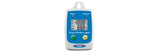 Datalogger température interne et humidité, seuils et afficheur LCD