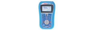 Contrôleur électrique multi-fonctions compact Bluetooth. Toutes les mesures des normes NF C15-100 et  X C16-600 / FD C 16-600