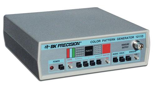 Color Bar Generator : Discontinued model d color bar generator b k precision