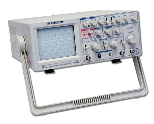 Digital Analog Oscilloscopes : Discontinued model d mhz dual channel analog