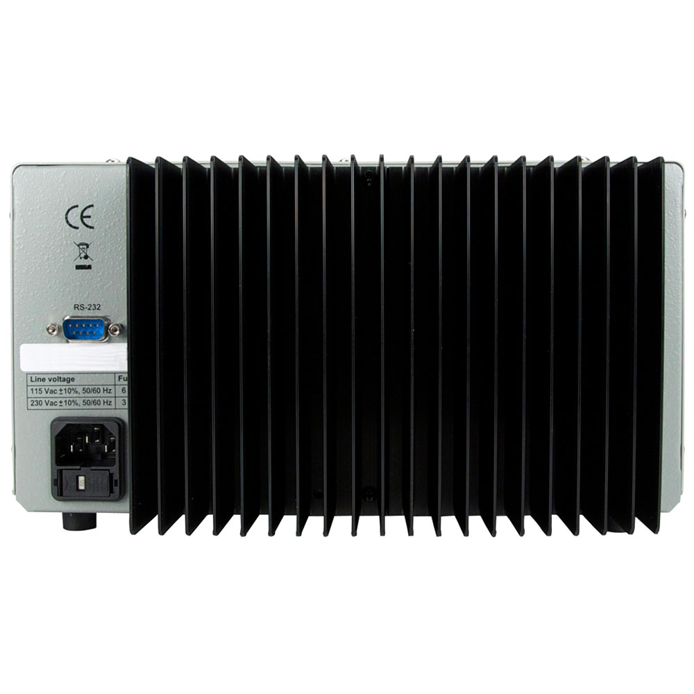 Model 1747 Dual Range Dc Power Supply 0 35v 10a Or 60v 5a Constant Current Load For Testing Rear2