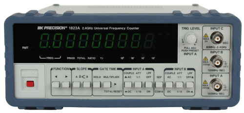 2 Input Counter : Model a ghz universal frequency counter with