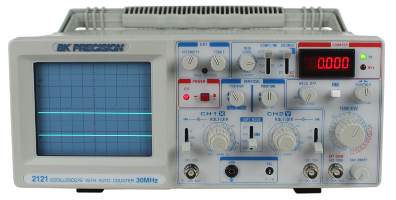 Digital Analog Oscilloscopes : Discontinued model mhz analog oscilloscope with