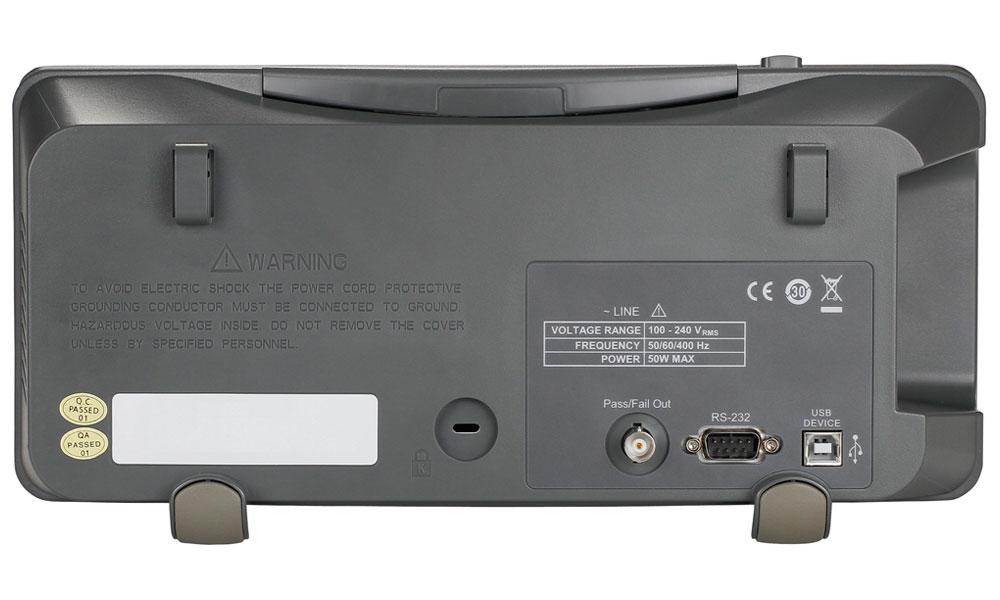 Model 2190D Rear