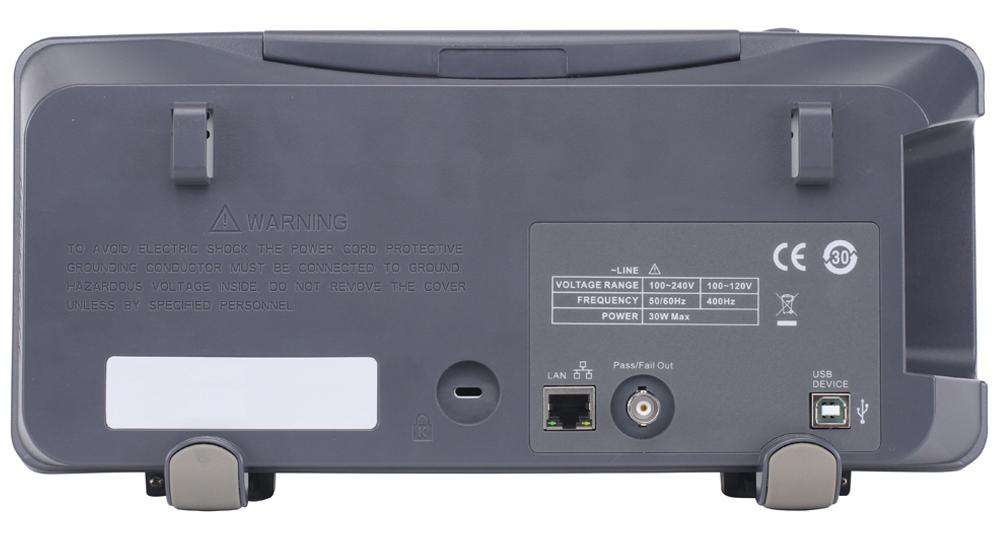 Model 2190E Rear