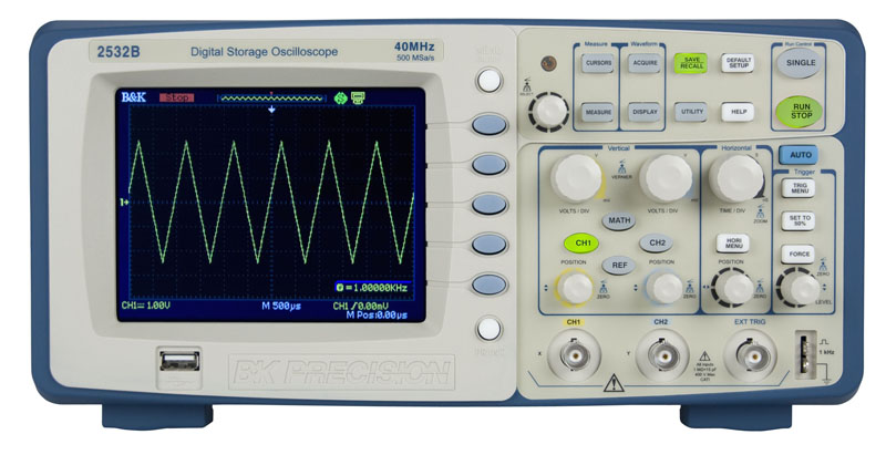 Digital Storage Oscilloscope : Model b mhz digital storage oscilloscopes