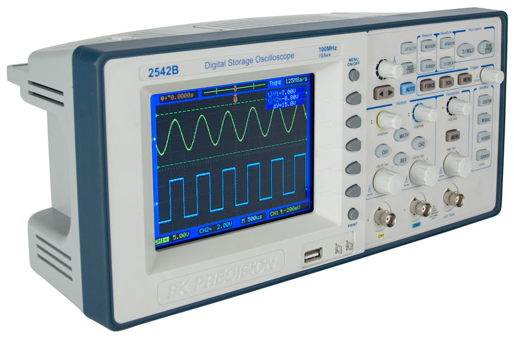 Digital Storage Oscilloscope : Model b gen mhz and gsa s digital