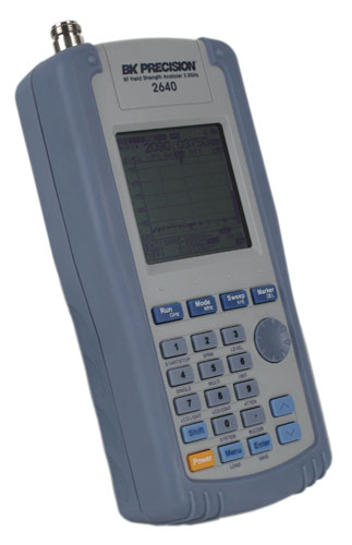 Handheld Rf Meter : Model bk ghz handheld rf field strength meter sefram