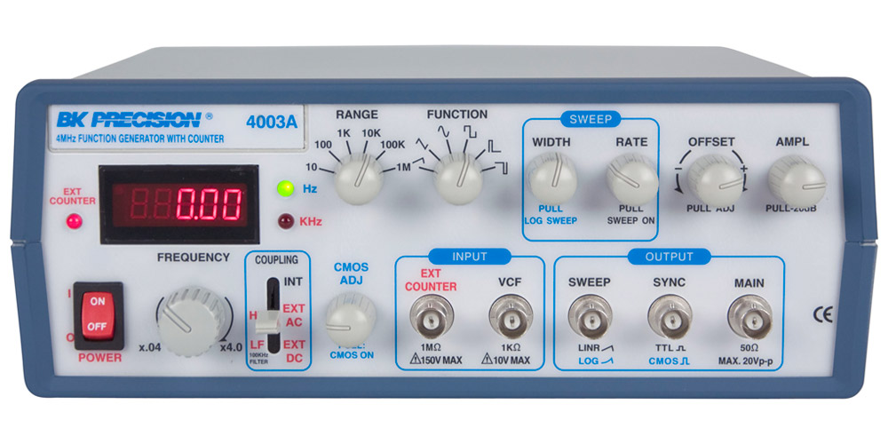 Model 4003A, 4 MHz Sweep Function Generators - B&K Precision