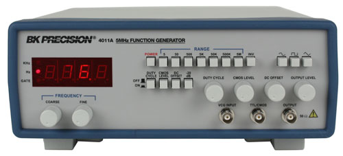 Function Generator And Oscilloscope : Model a mhz function generator b k precision