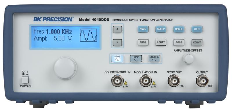 Model 4040DDS Front