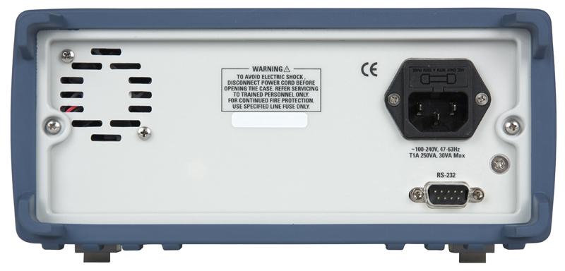 Model 4040DDS Rear