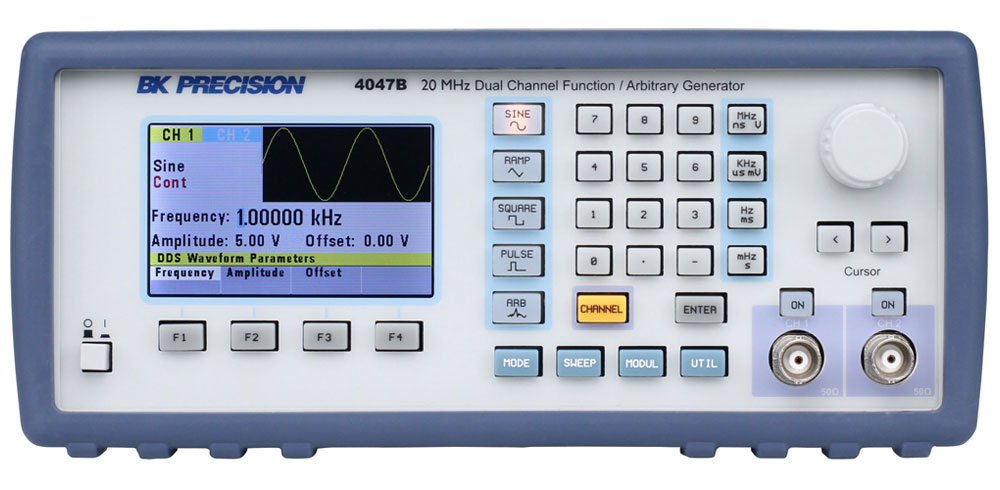 Model 4047B, 20 MHz Dual Channel Function / Arbitrary