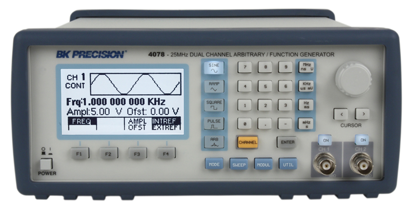 Discontinued Model 4075, 25 MHz Arbitrary Waveform / Function ...