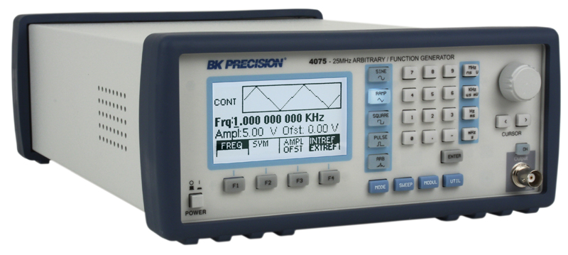 Discontinued Model 4075GPIB, 25 MHz Arbitrary Waveform / Function ...