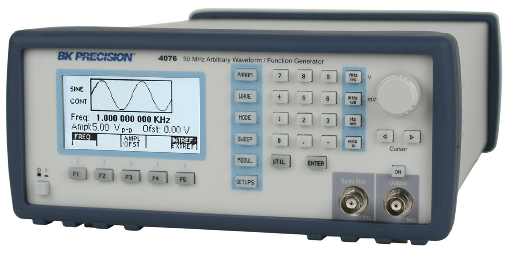 Discontinued Model 4076, 50 MHz Arbitrary Waveform