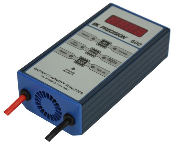 security battery discontinued model 600 12v sla battery capacity analyzer bk
