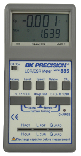 model 885, high accuracy handheld lcr esr meters b\u0026k precisionBk Precision 885 Synthesized Incircuit Lcr Esr Meter #1