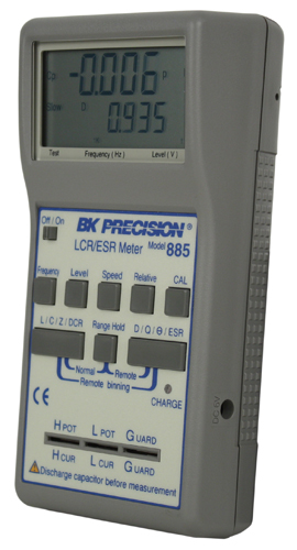 model 885, high accuracy handheld lcr esr meters b\u0026k precisionBk Precision 885 Synthesized Incircuit Lcr Esr Meter #2