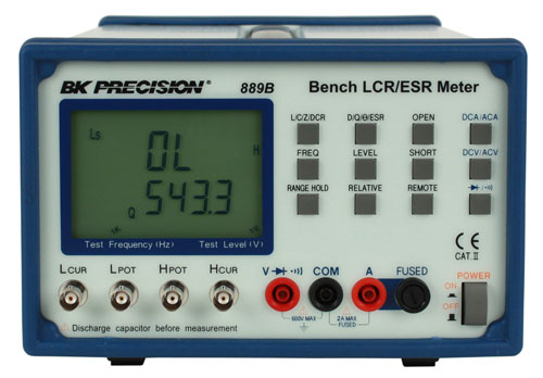 Esr Meter For Batteries : Model b bench lcr esr meter with component tester