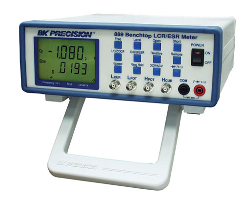 discontinued model 889, bench lcr esr meter with component tester