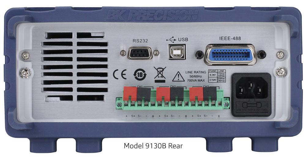 Model 9130B Rear