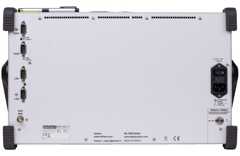 Model DAS917005500 Rear