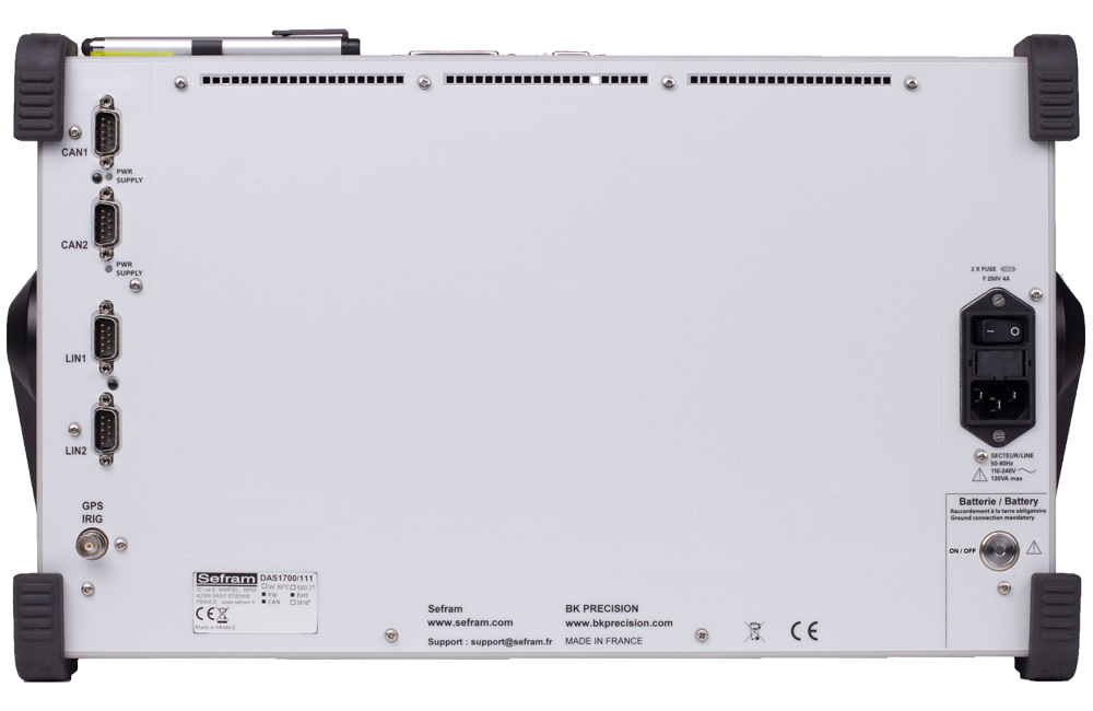 Model DAS1700 Rear